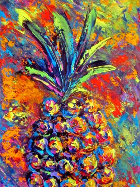 Multi Color Pineapple 1