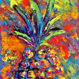 Multi Color Pineapple 1