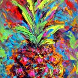 Multi Color Pineapple  II