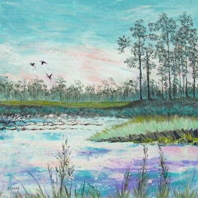 Everglades in Teal
